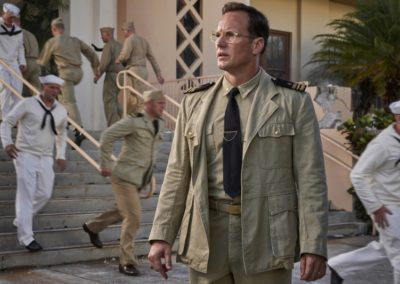 Patrick Wilson stars as 'Edwin Layton' in MIDWAY.
